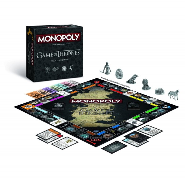 Monopoly - Game of Thrones Collectors Edition DE