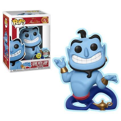 POP - Disney Aladdin - Genie with Lamp (Glow)