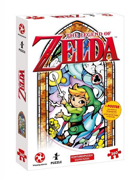 The Legend of Zelda Puzzle - Link-Wind Waker