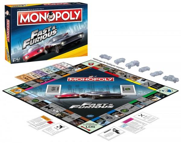 Monopoly - Fast & Furious (DE)