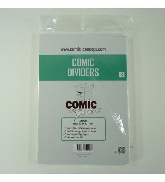 Comic Concept Comic Dividers S 184 x 270mm (25ct.)