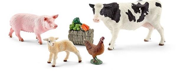SCHLEICH - Farm Life, Meine ersten Bauernhoftiere
