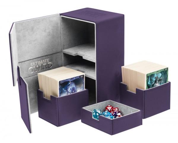 UG Twin Flip`n`Tray Deck Case 200+ XenoSkin Purple