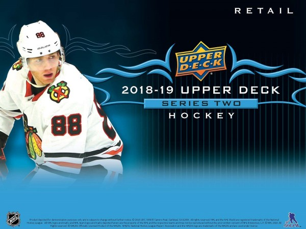 2018-19 NHL Upper Deck II Gravity Feed (Retail)