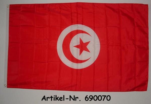 Flagge Tunesien 90 x 150 cm