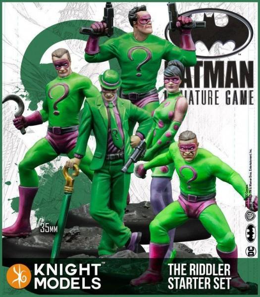 Batman Miniature Starter Set - The Riddler