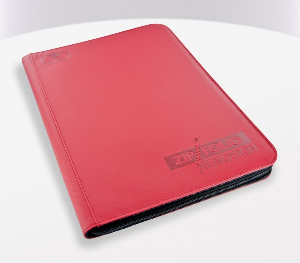 UG 9-Pocket ZipFolio XenoSkin Red