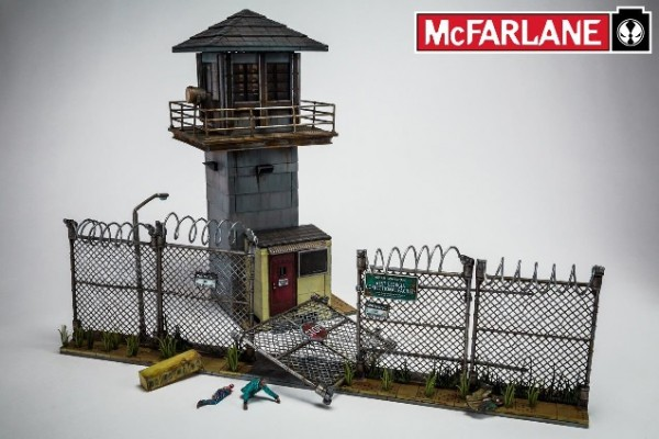 The Walking Dead Building Set -Prison Tower & Gate