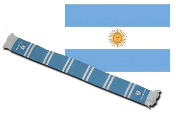 Fanschal Argentinien (bestickt)