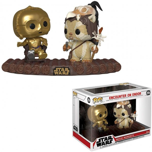 POP - Movie Moments - C-3PO on Throne