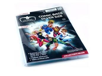 UG Comic Bags Silver Size 100 ct.