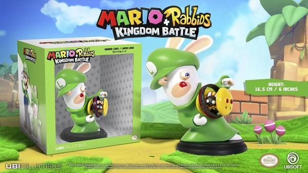 Mario + Rabbids Kingdom Battle: Rabbid Luigi 16 cm