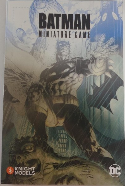 Batman Miniature Game - Rulebook EN