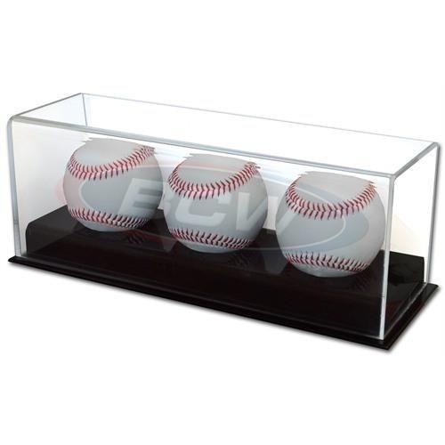 BCW Acryl Baseball Triple Display Holder