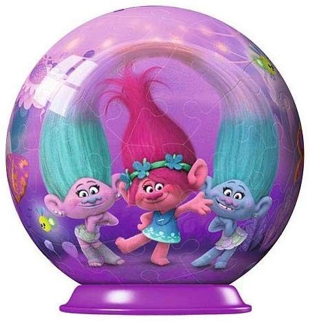 Trolls Puzzleball 54 Teile/ 7cm Durchmesser