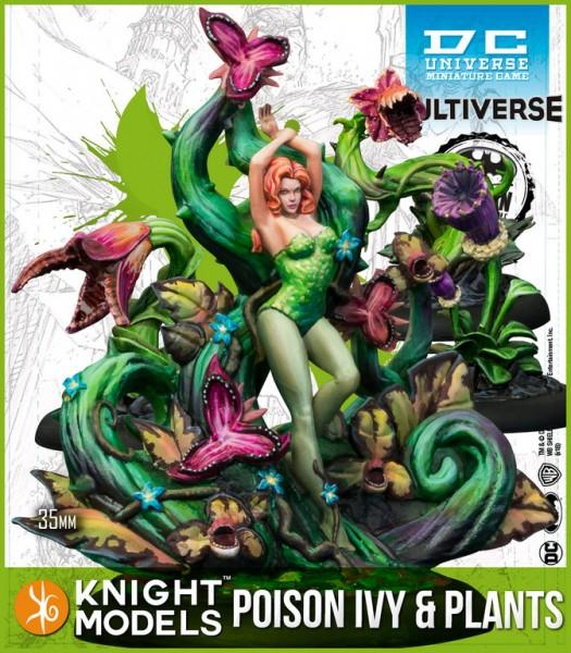 Batman Miniature Game - Poison Ivy & Plants