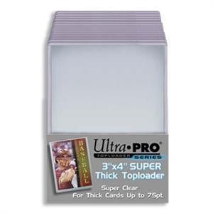 """UP Topload 3 x 4"""" (Thicker Cards 75pt) (25 ct.)"""