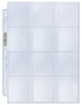 UP Hüllen für 12 Karten/Sticker (100 ct.)
