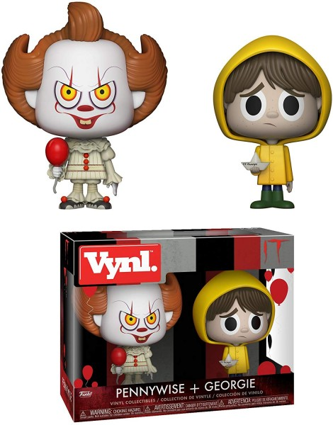Vynl. IT - Pennywise + Georgie 2-Pack