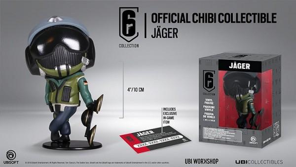 Six Collection 2 - Jäger 10 cm Vinyl Figure