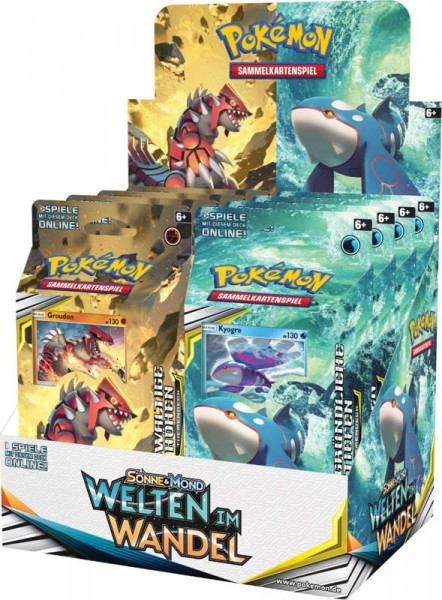 Pokémon Cards SM12 Welten im Wandel Themend DE