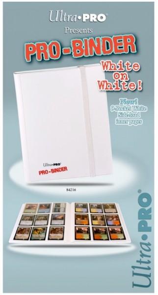 UP Pro Binder für 360 Karten white on white