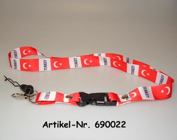 Schlüsselband Türkei