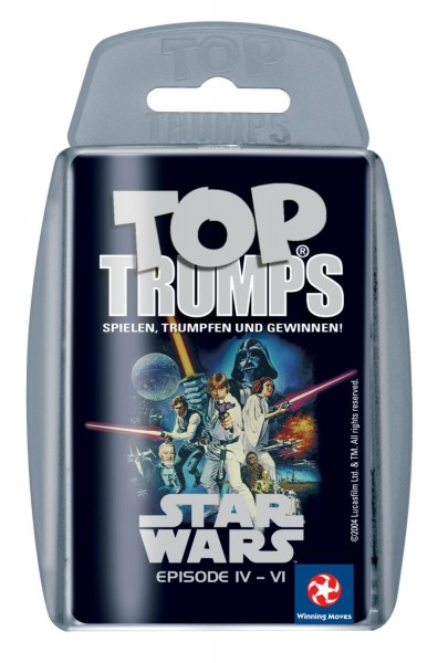 Top Trumps - Star Wars Episode IV - VI