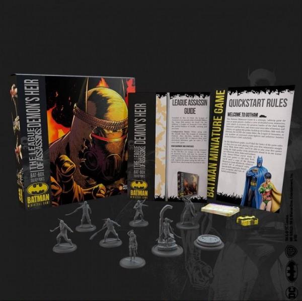 Batman Miniature Game Bat-Box League of Assassins: