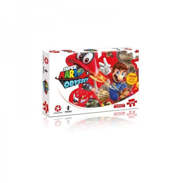 Super Mario Odyssey Mario und Cappy Puzzle/360