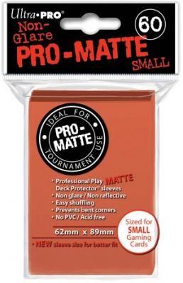 UP Pro-Matte Sleeves Japan peach/pfirsich (60 ct.)