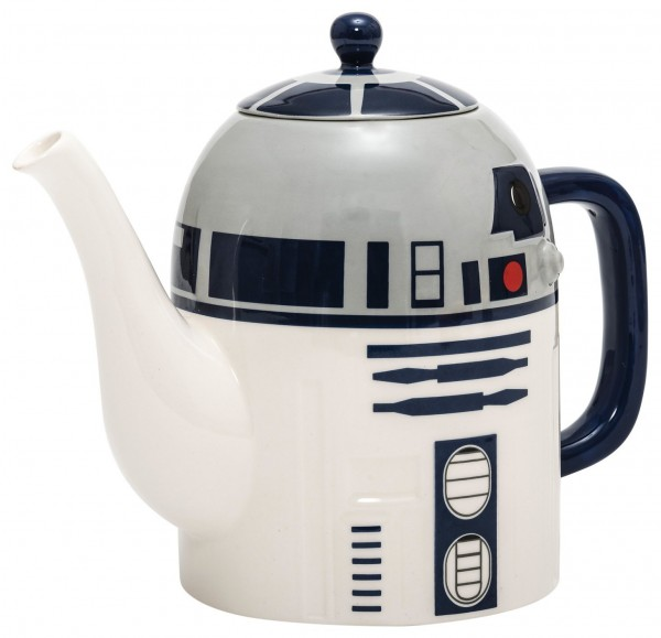 Star Wars R2-D2 Teekanne mit Deckel aus Keramik