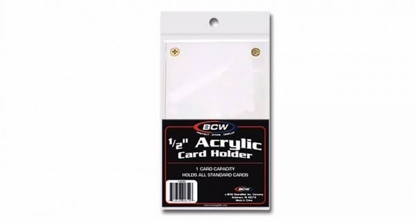 """BCW Schraubhalter 1/2"""" Acryl (4 Schrauben)"""