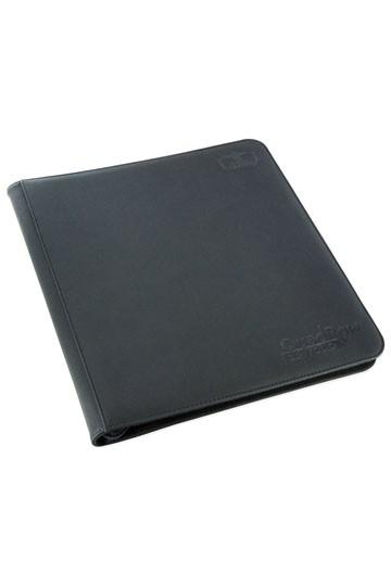 UG 12-Pocket QuadRow ZipFolio XenoSkin Black