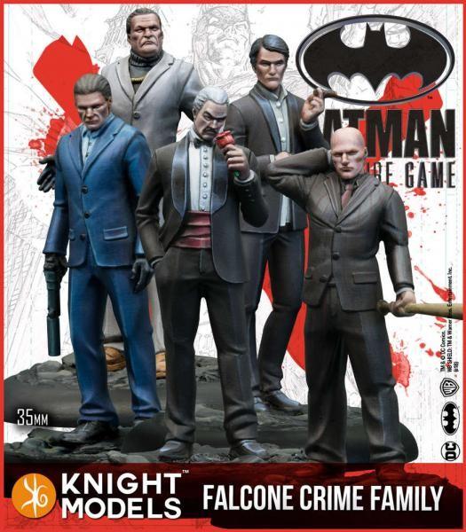 Batman Miniature Game - Falcone Crime Family