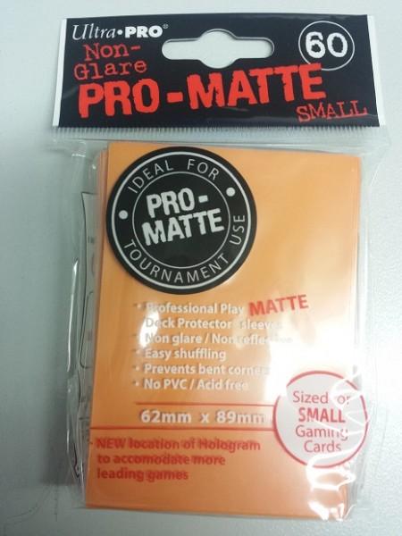 UP Pro-Matte Sleeves Japan orange (60 ct.)
