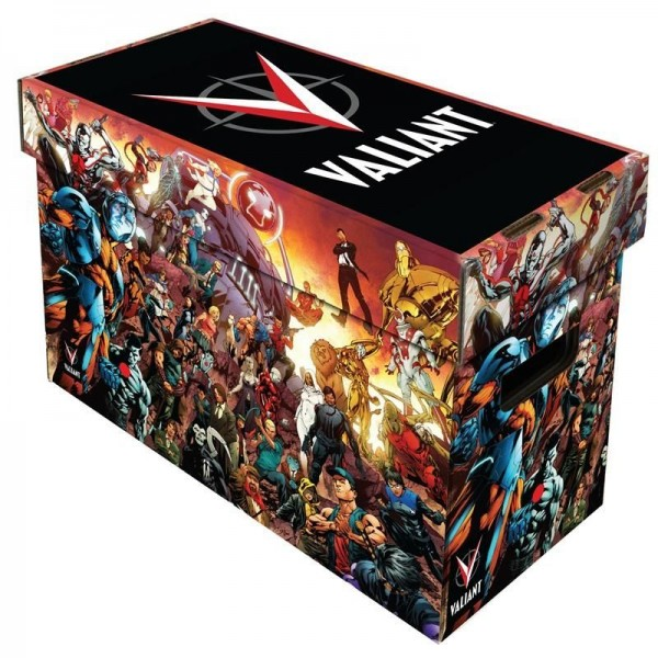 BCW Short Comic Box - Art - Valiant Universe