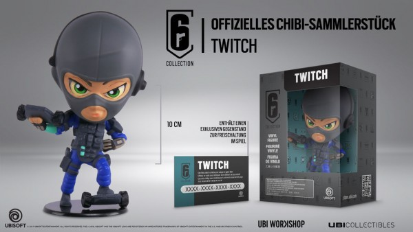 Six Collection 3 - Twitch 10 cm Vinyl Figure