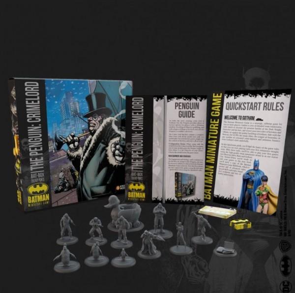 Batman Miniature Game Bat-Box Penguin: Crimelord