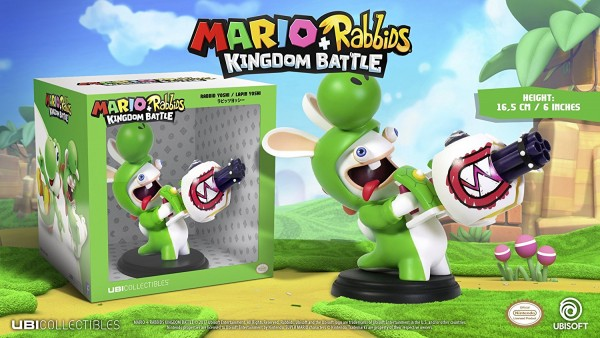 Mario + Rabbids Kingdom Battle: Rabbid Yoshi 16 cm