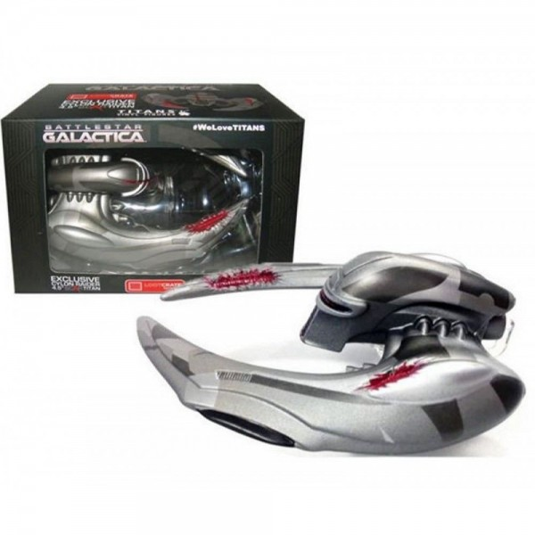 Battlestar Galactica Cylon Raider 11cm Vinyl Model