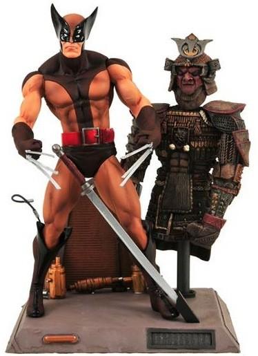Marvel Select - Wolverine Brown Uniform Fig.