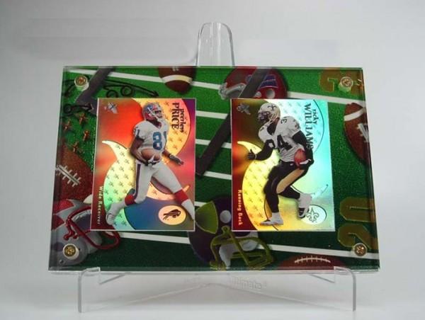 PKK Chrome Double Holder Football