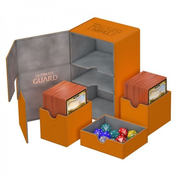 UG Twin Flip`n`Tray Deck Case 160+ XenoSkin Orange