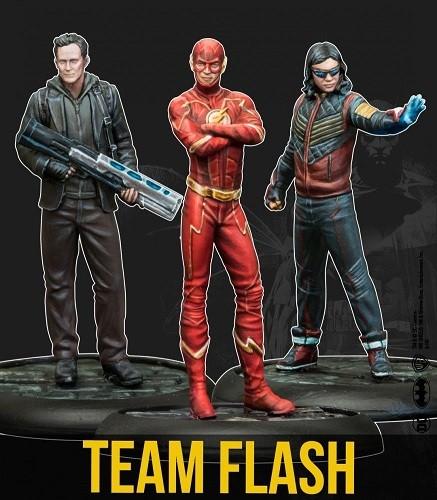 Batman Miniature Game - Team Flash