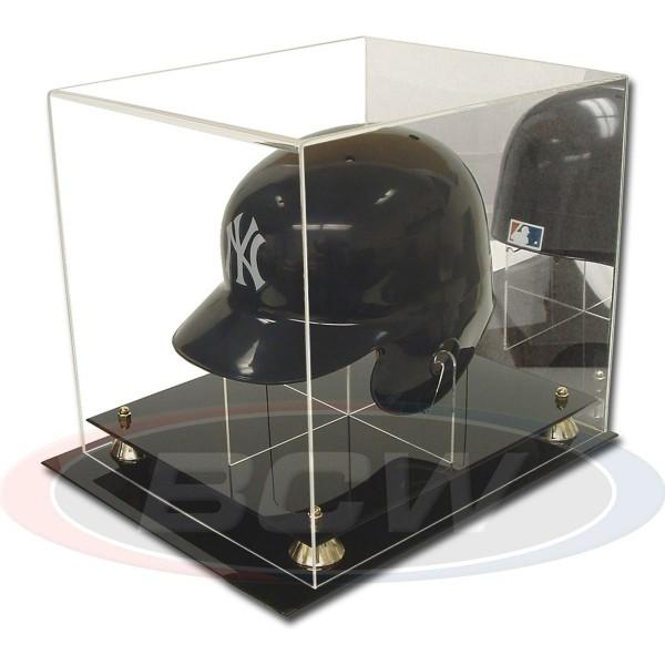 BCW Acrylic Baseball Helmet Holder with Mirror