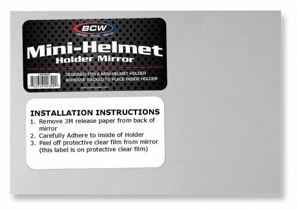 BCW Mirror for Mini Helmet Holder