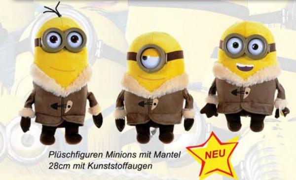 Minions - Minion mit Mantel 28cm Plüsch