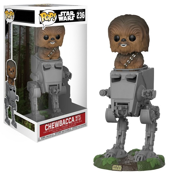 POP - Star Wars - Chewbacca with AT-ST