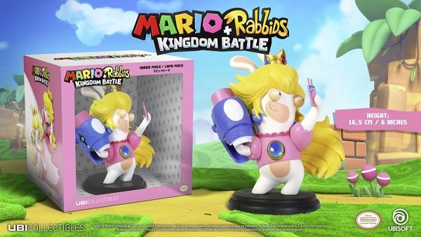 Mario + Rabbids Kingdom Battle: Rabbid Peach 16 cm